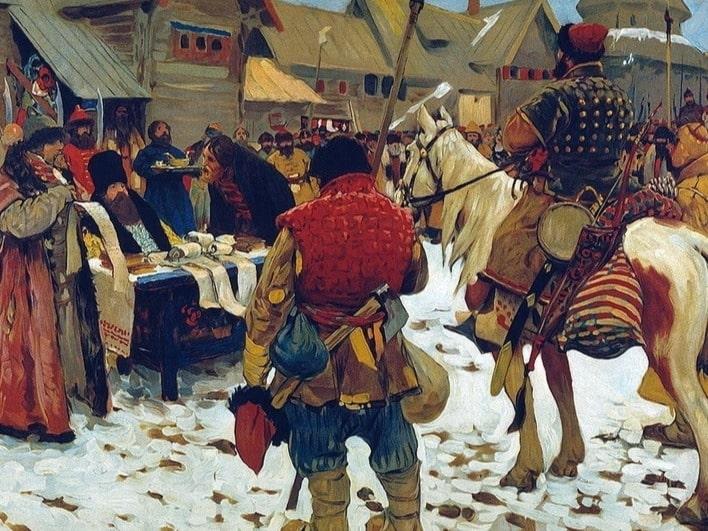 Рекрутская повинность в россии, история — история россии
