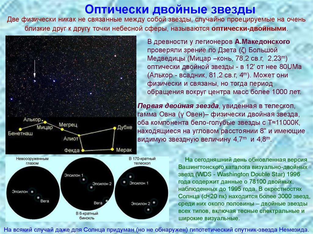 Двойная звезда википедия