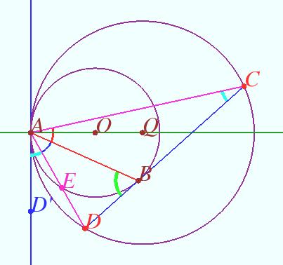Отрезки и прямые, связанные с окружностью. теорема о бабочке