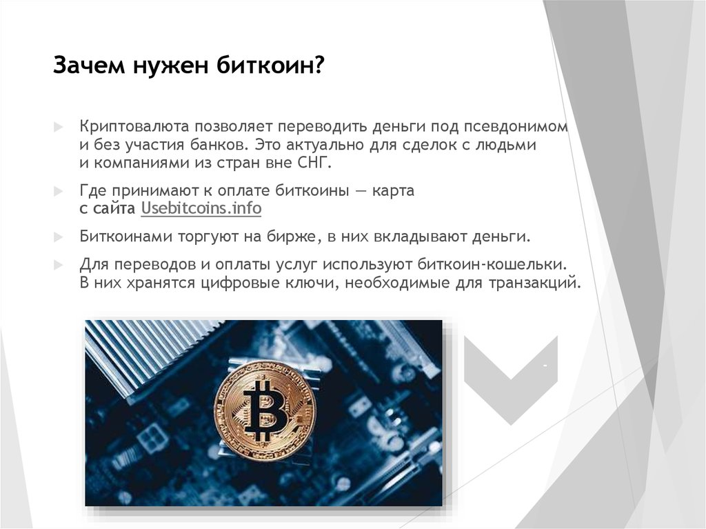 Что такое биткоин простыми словами и для чего он нужен