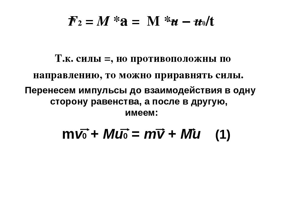 Значение слова «импульс»