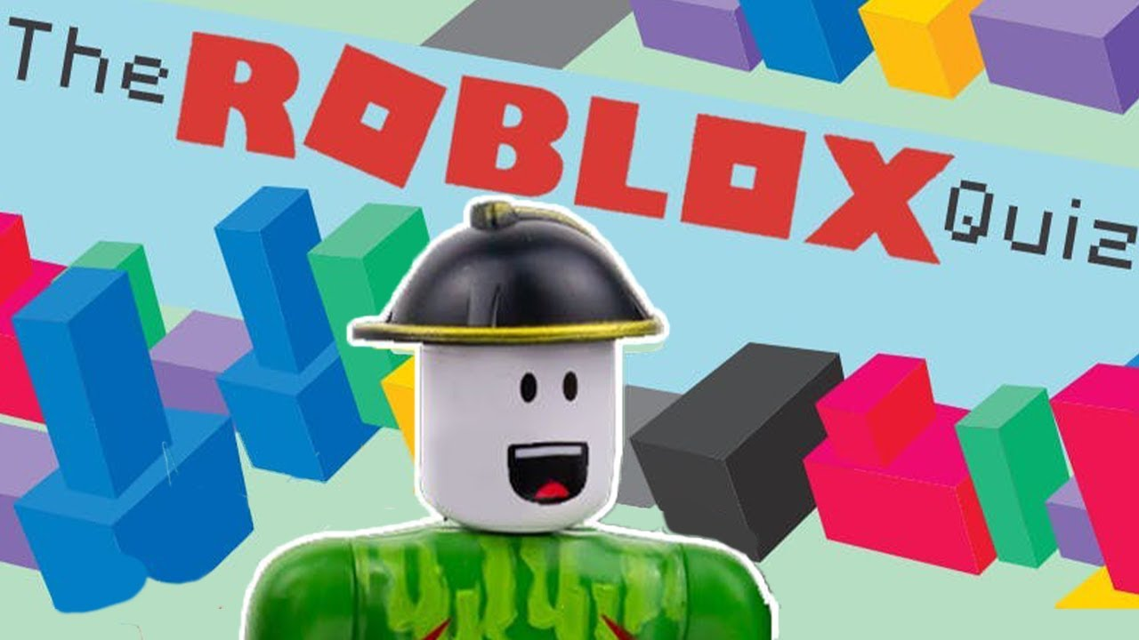 The ultimate roblox quiz