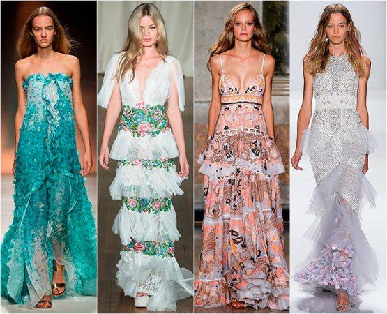 Платья: виды, фасоны и стили