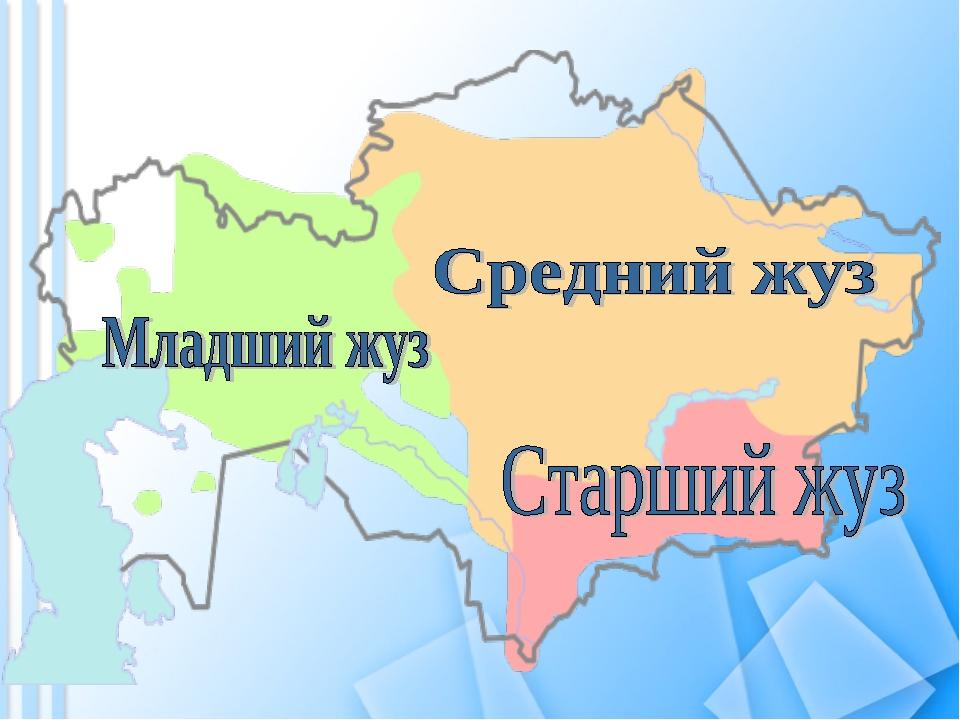 Казахские жузы википедия
