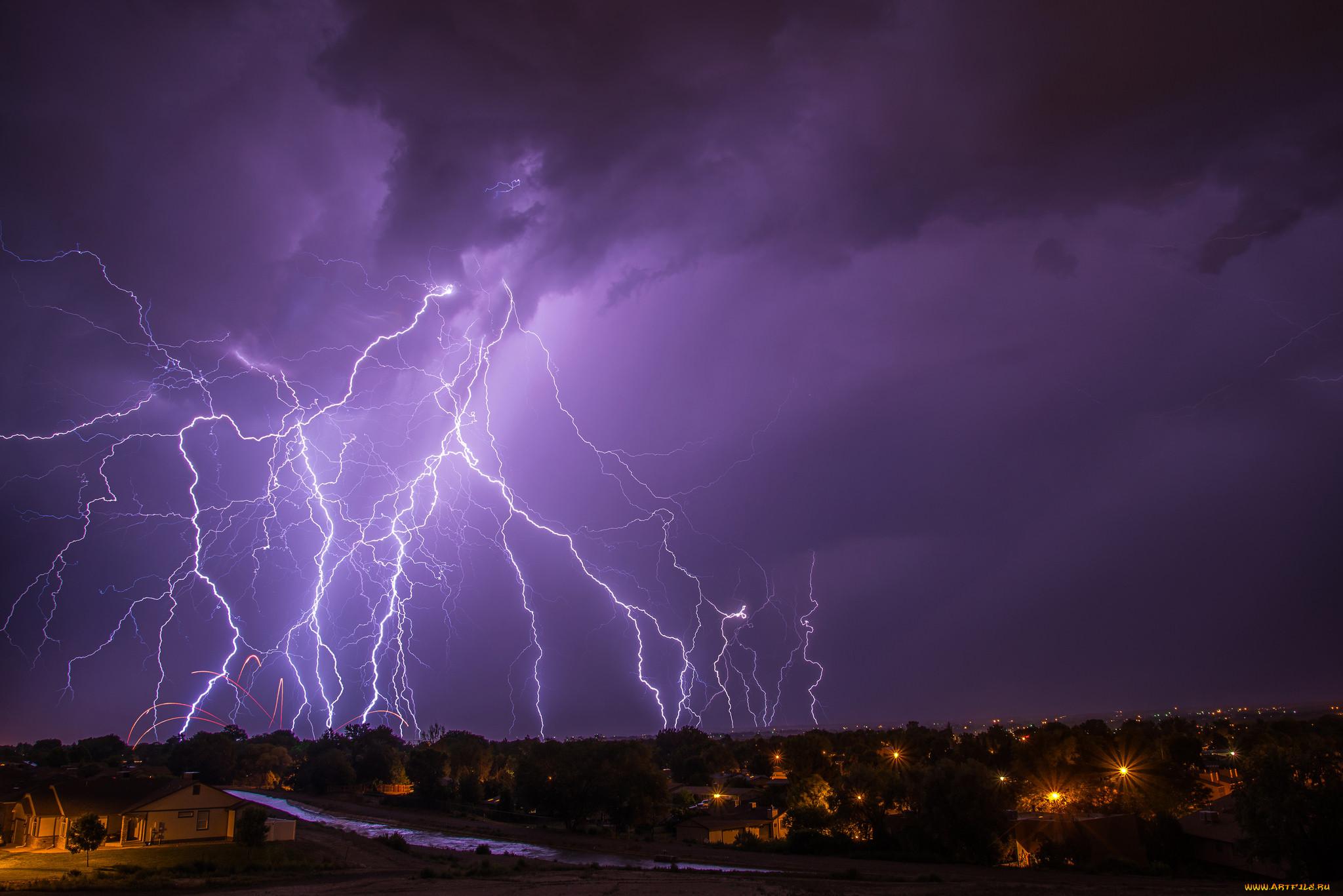 Молния и гроза. описание, фото, причины и последствия