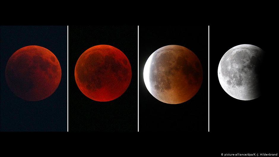 Почему луна красная: что это значит, приметы