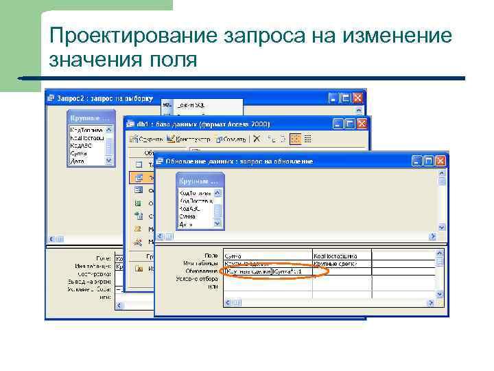 Ms access: введение в объекты - таблицы, формы, запросы и отчеты