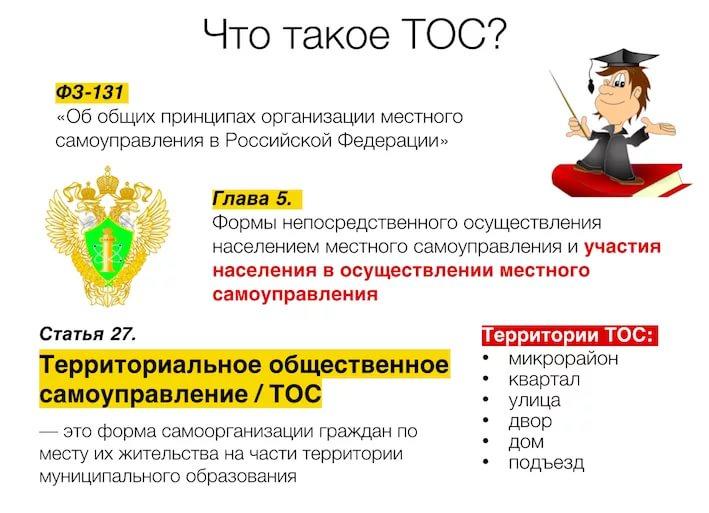 Что такое тосы в муниципальных образованиях? порядок образования, устав :: businessman.ru
