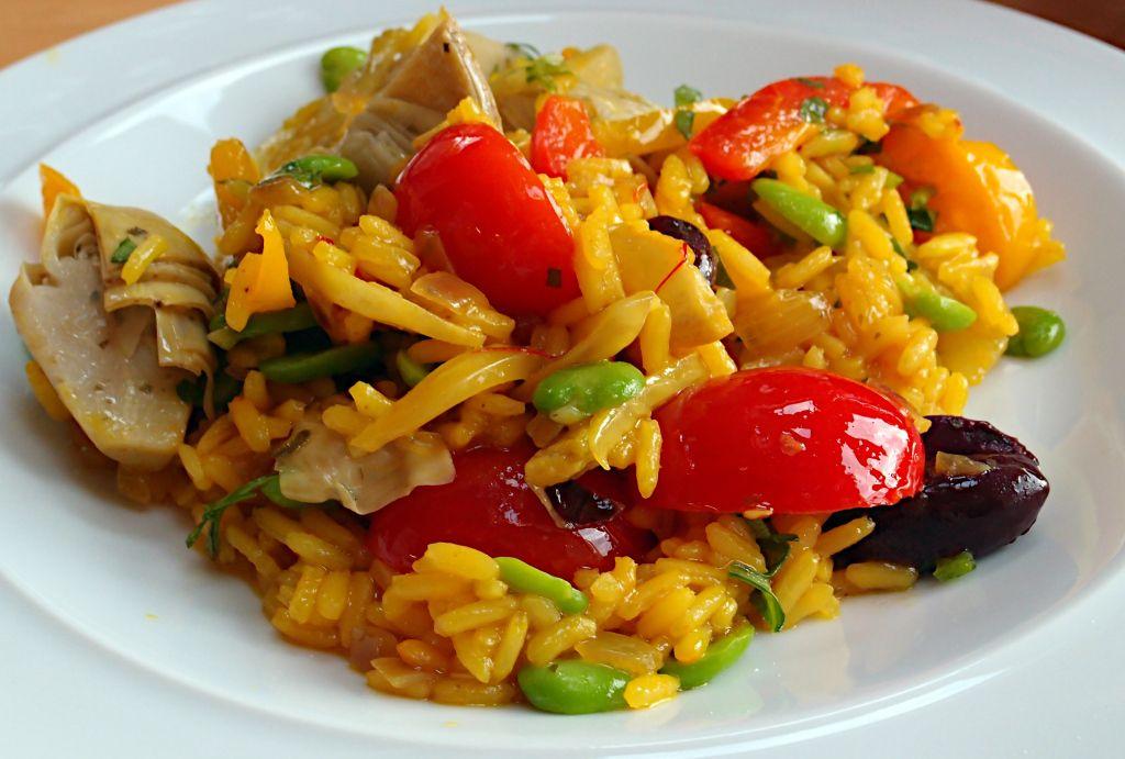 Паэлья с курицей – кулинарный рецепт