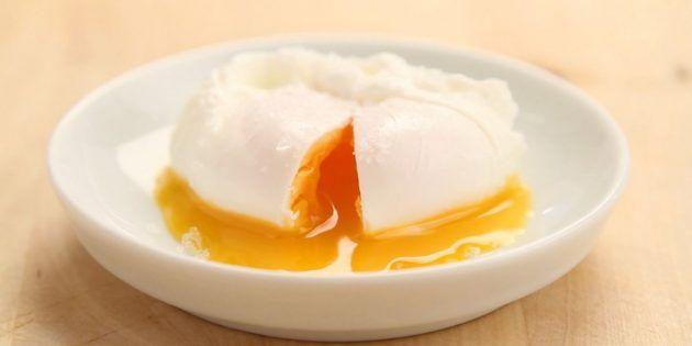 Как приготовить яйцо пашот по пошаговому рецепту с фото