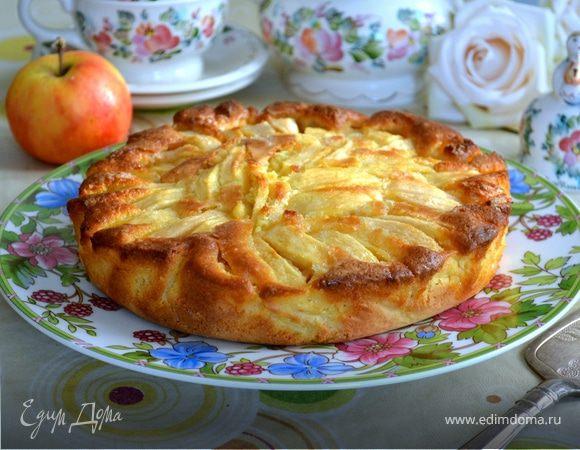 Шарлотка с яблоками (95 рецептов с фото) - рецепты с фотографиями на поварёнок.ру
