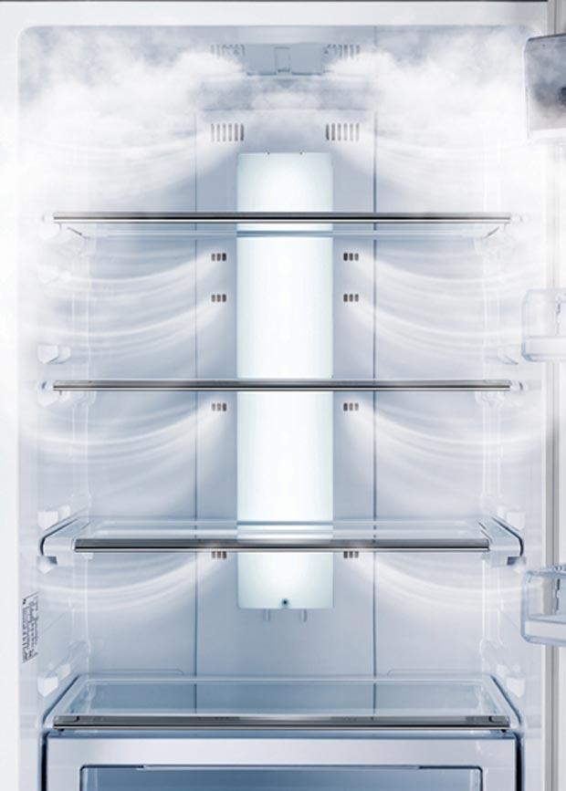 Как работают холодильники с системой ноу фрост
