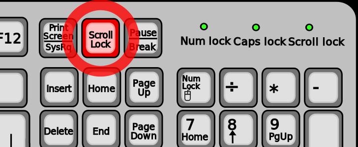 Зачем нужны три кнопки prtscr/sysrq, scroll lock и pause/break? - блог об информационных технологиях: софт, железо, интернет, услуги, советы
