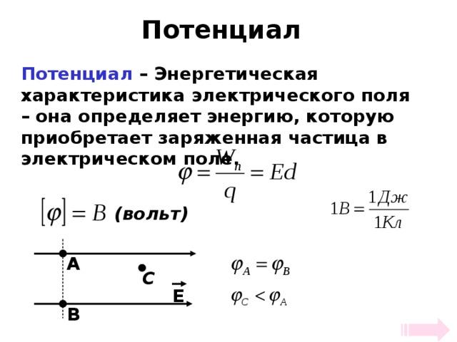 Измерение потенциала: разность потенциалов в электротехнике и физике