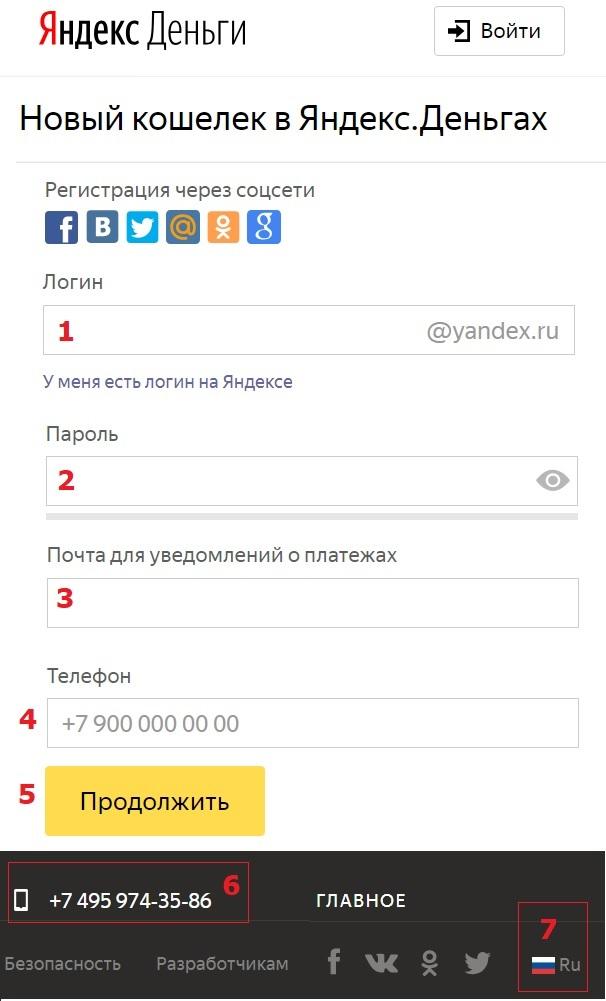 Инструкция по созданию электронного кошелька (яндекс, киви, веб мани