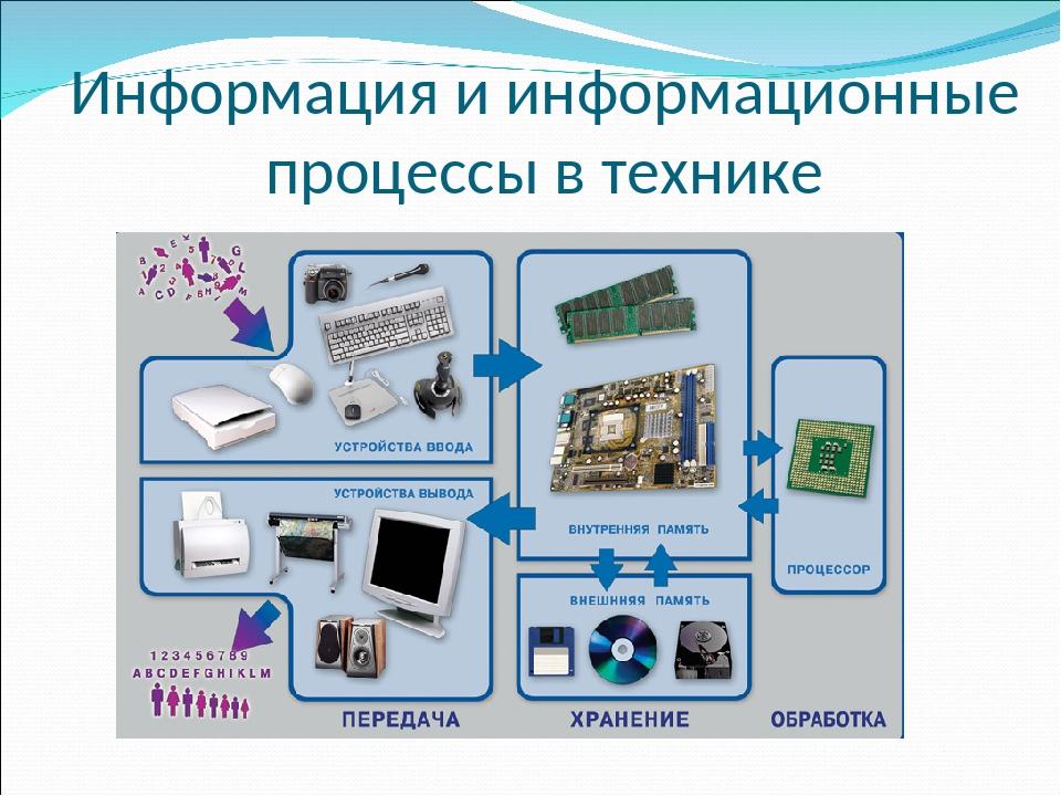Информационные процессы – особенности, примеры, основные виды (10 класс, информатика)