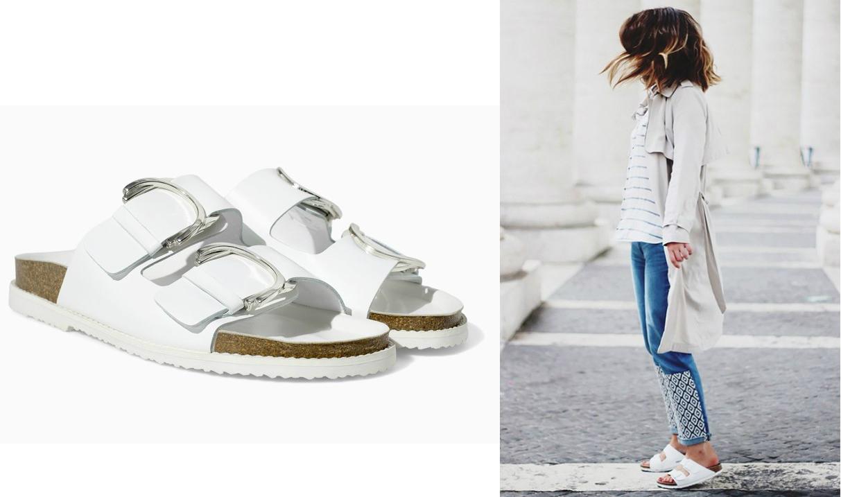 Биркенштоки – это обувь с ремнями и профилактической стелькой