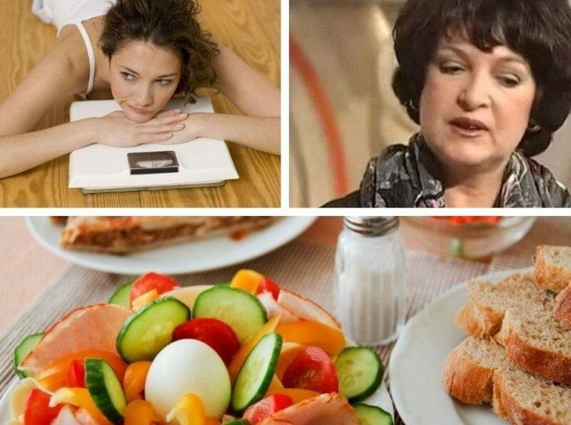 Методика похудения татьяны малаховой меню диеты дружбы неделя