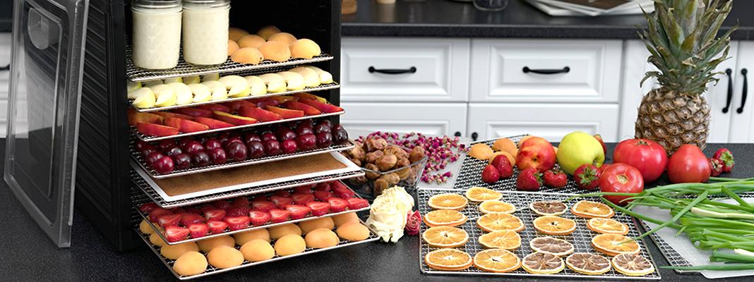 Топ-10 самых хороших дегидраторов-сушилок для овощей и фруктов 2020 года