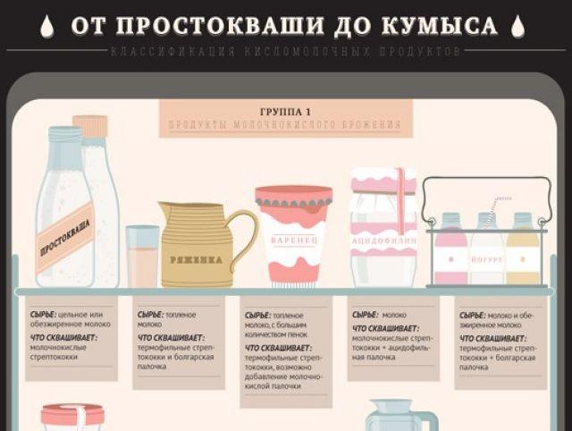 Виды молочных продуктов: список названий и описание полезных свойств | food and health
