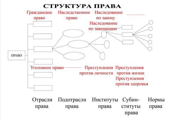 Система российского права . кратко. - учительpro