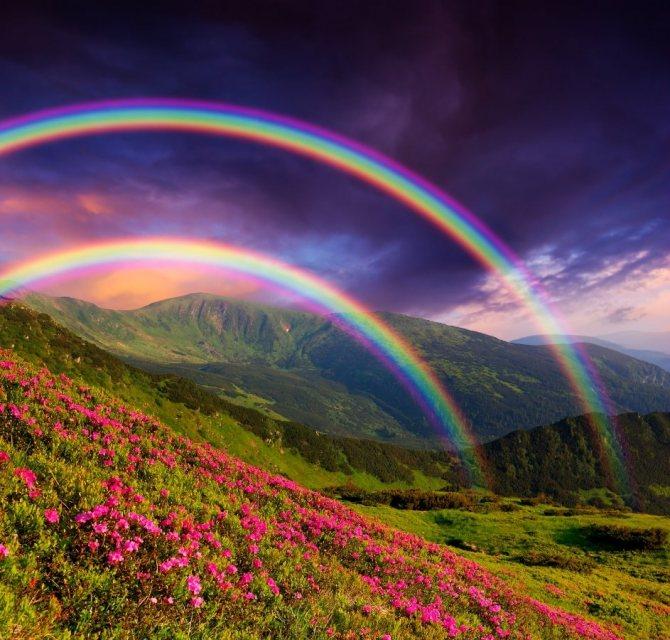 Почему радуга разноцветная? (1 класс, окружающий мир)