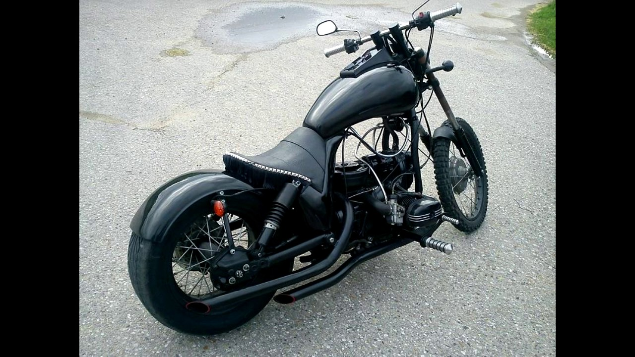 Кастом-проэкты - мой мотоцикл