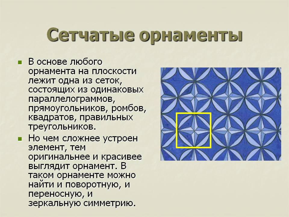 Узор это объяснение для детей – что такое орнамент и что есть узор