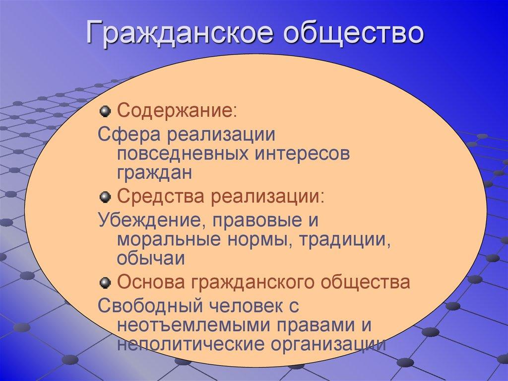 4.6. гражданское общество и государство