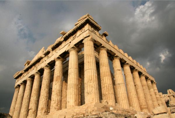 Парфенон - эталон античного зодчества