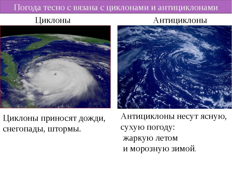 Циклоны: описание, виды, опасность, интересные факты (фото)