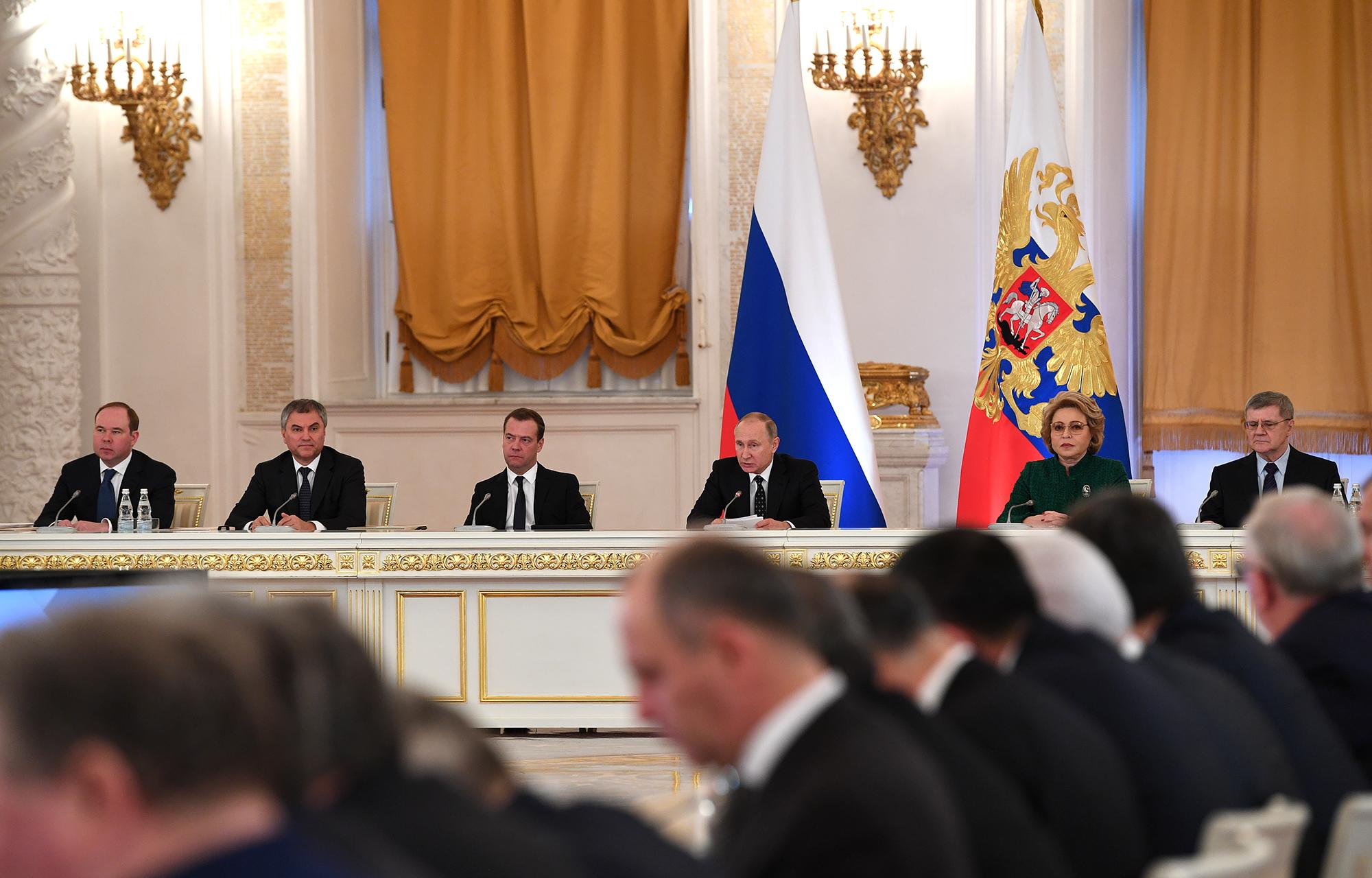 Государственный совет рф: зачем путин вносит госсовет в конституцию?
