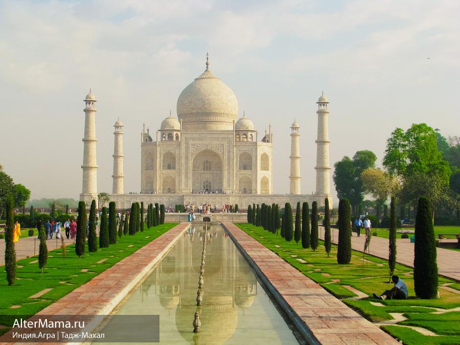 Тадж-махал в индии – застывшая в мраморе песнь любви