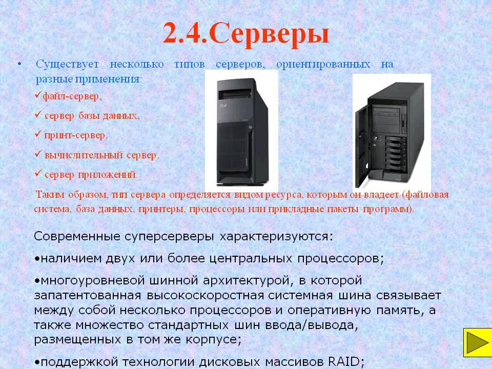 Как выбрать сервер для небольшой компании: руководство для сомневающихся / блог компании galtsystems (ex. сквадра груп) / хабр