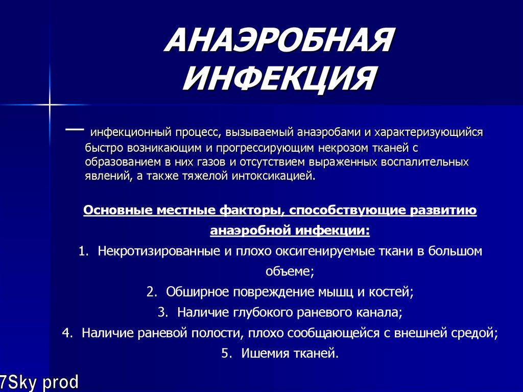 Анаэробная (газовая) инфекция - лечение, симптомы, причины