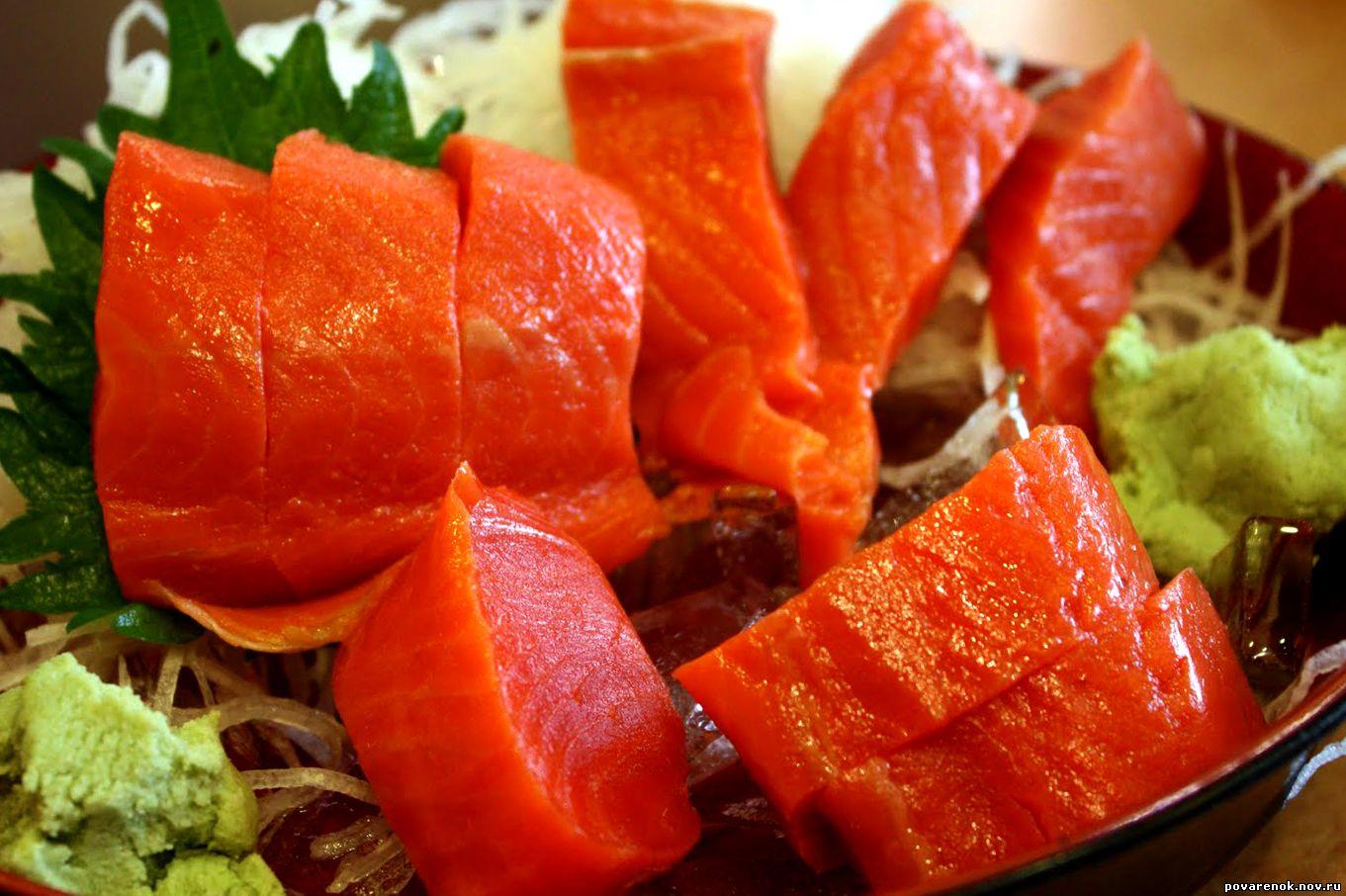 Что такое сашими
