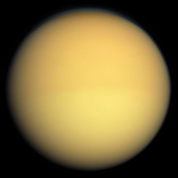 Удивительный титан, спутник сатурна