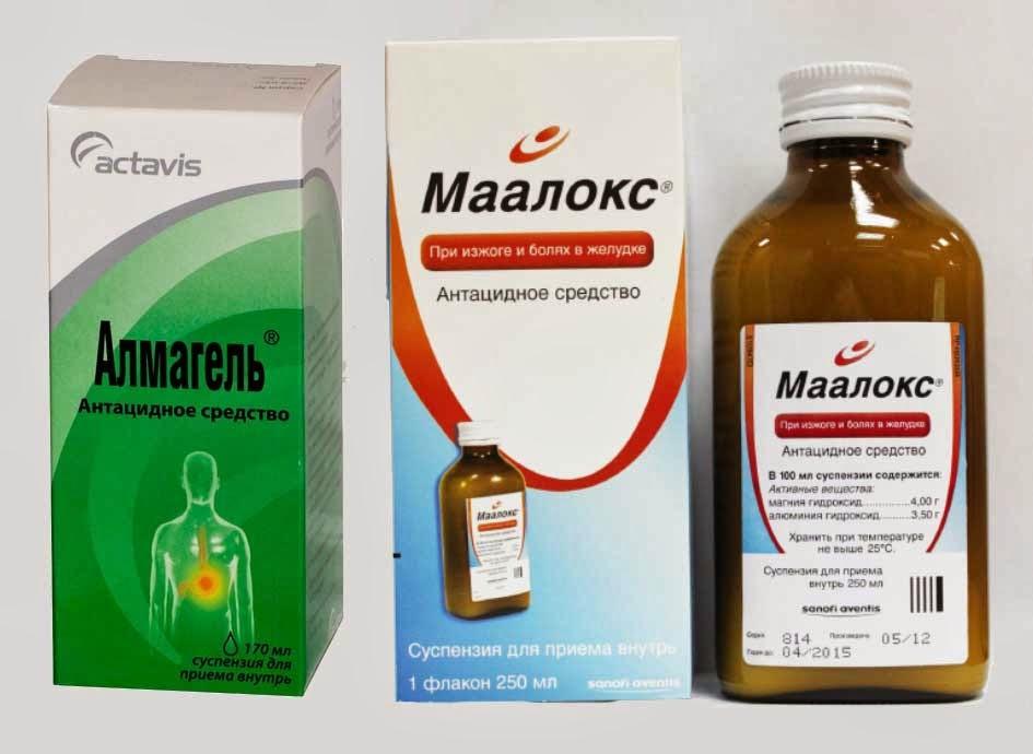 Антацидные препараты: группы и применение