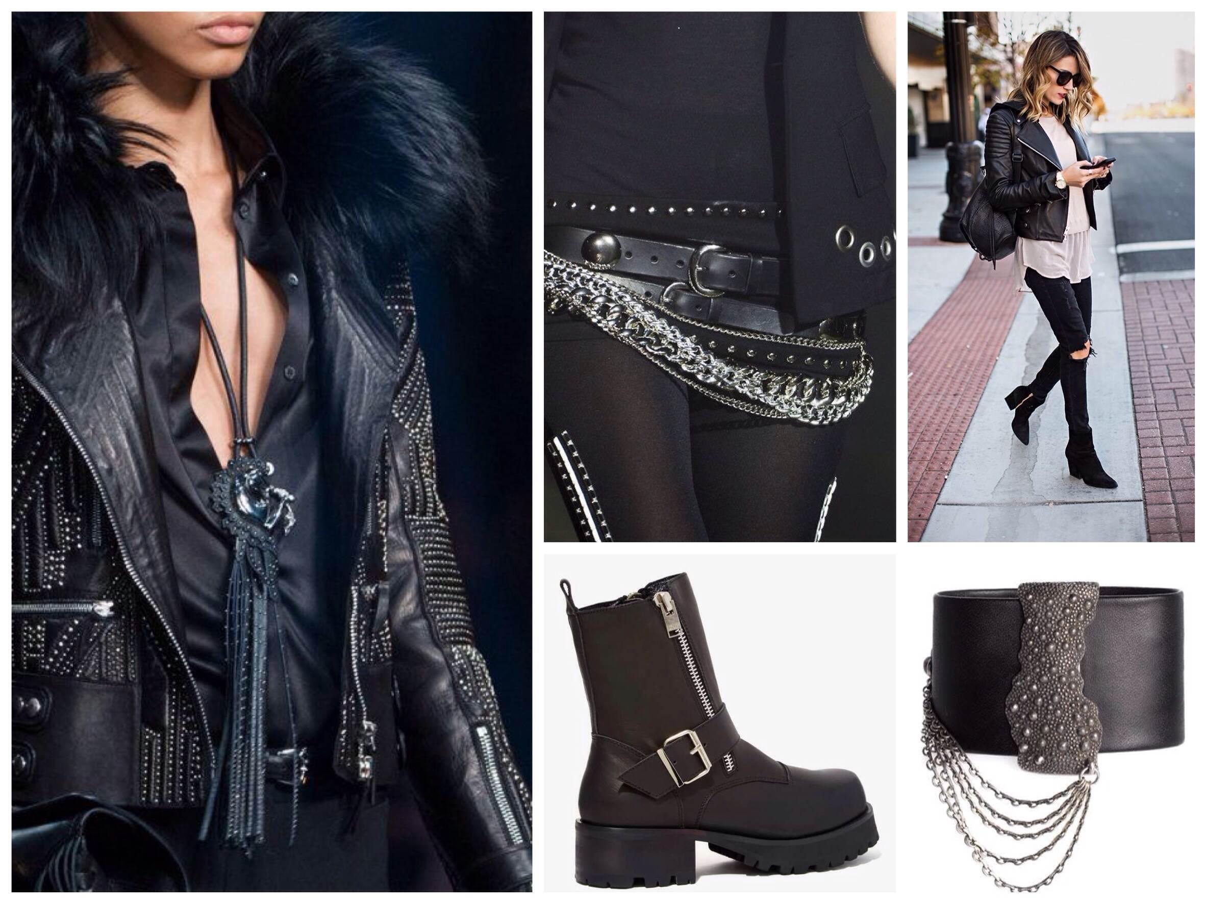 Дерзкий и элегантный — стиль глэм-рок в одежде