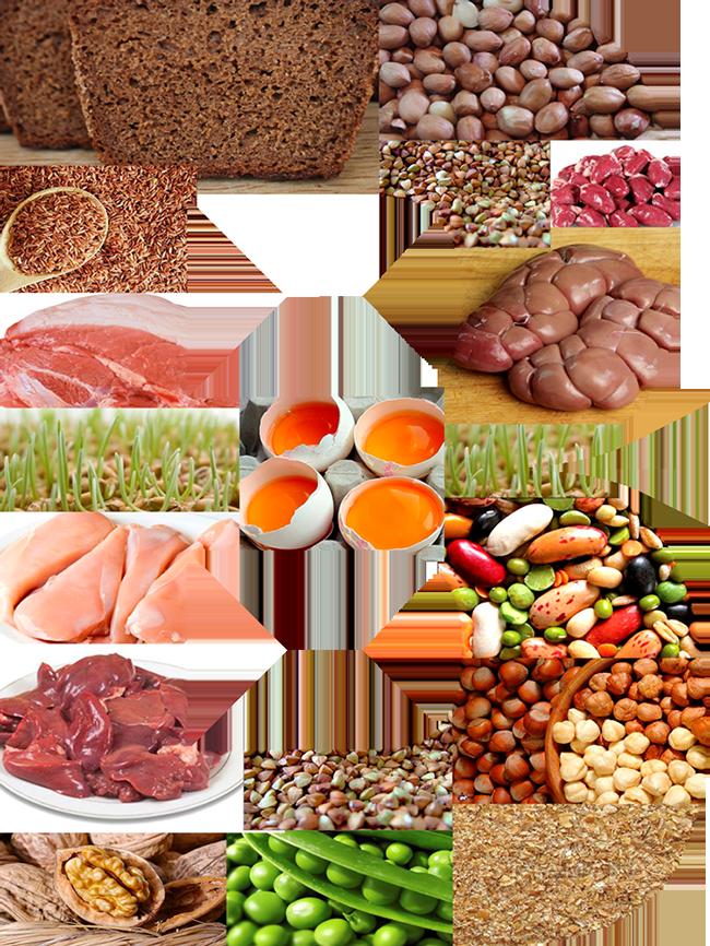 Продукты, в которых есть холин (витамин в4)