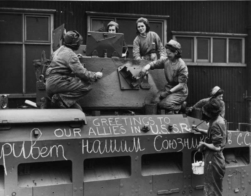 Ленд-лиз в цифрах в 1941-1945 гг.