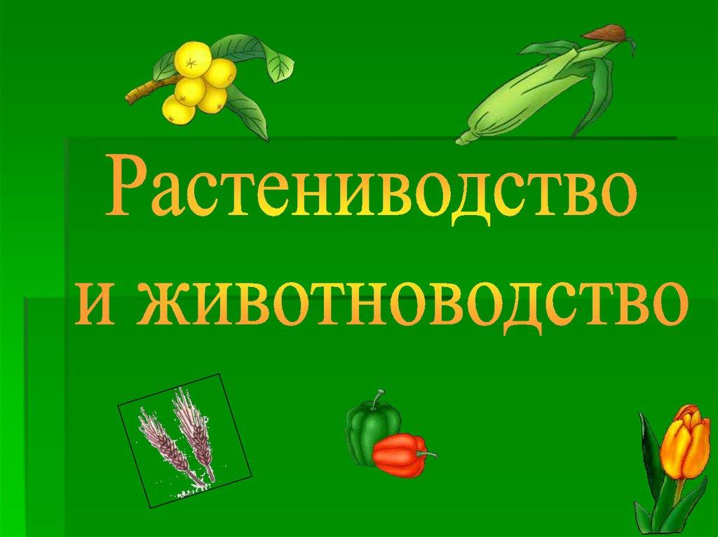 Основы растениеводства — cельхозпортал