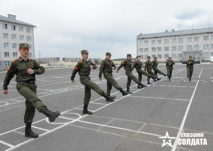 Строи, команды и обязанности военнослужащего перед построением и в строю - планконспект