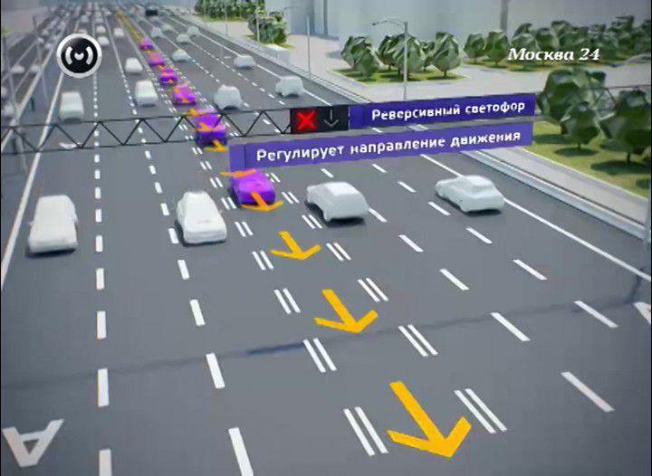 Реверсивное движение - что это такое, знак и светофор, пдд, есть ли в россии
