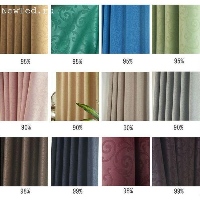 Чем хороши шторы из ткани блэкаут?