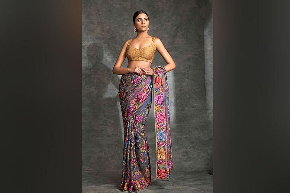 Как одевать сари: несколько простых и эффектных способов