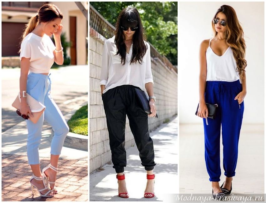 Модные «треники» – брюки джоггеры