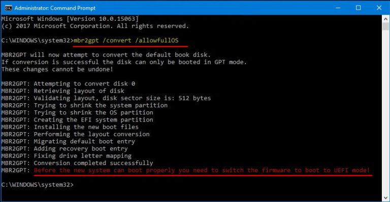 Как диск mbr преобразовать в gpt | как настроить?