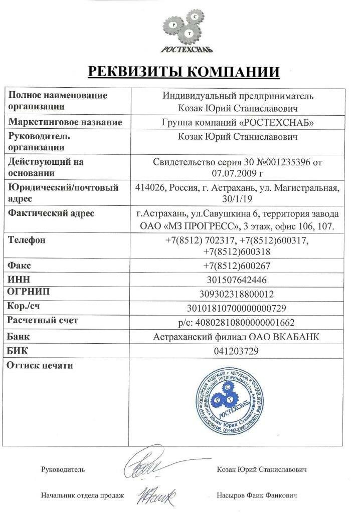 Обязательные реквизиты договора - это что такое? :: businessman.ru
