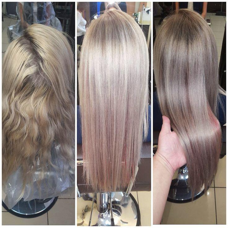 Тонирование волос: особенности, плюсы иминусы услуги